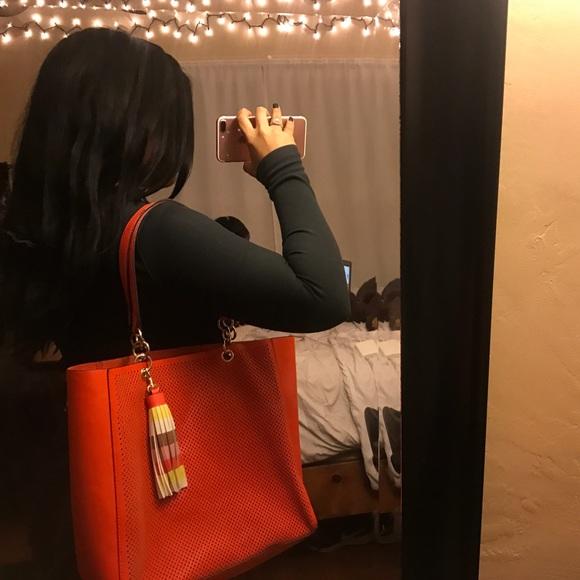 Handbags - Beautiful coral  purse